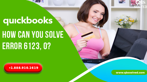 How can you solve Error 6123, 0?