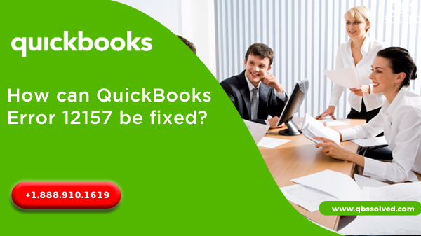 How can QuickBooks error 12157 be fixed?