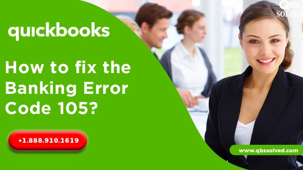 How to fix the Banking error code 105?